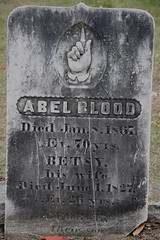 Abel Blood - the Most Haunted Grave in New England (StarrGazr) Tags: new halloween cemetery grave graveyard stone pine geotagged interestingness interesting blood finger ghost hill tombstone scout nh hampshire haunted spooky explore gravestone blogged hollis apparition haunt able spook spooked 1867 pinehill ableblood geo:lat=42765824 geo:lon=71542121 starrgazrsown nhtownlandmarks nh:project=cemetery