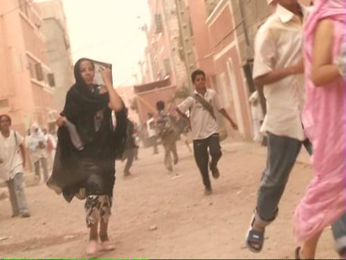 saharawis running