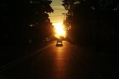 return (helveticaneue) Tags: 2005 street sunset drive evening october stock inthecar doylestown passenger alamy laurakicey alamylead pflg