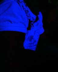 negative (EssjayNZ) Tags: 2005 shadow newzealand man tim space tshirt negative blacklight essjaynz mc05negativespace taken2005 sarahmacmillan
