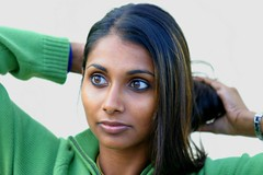 Doe Eyes (Punjabi Assassin) Tags: portrait woman green beautiful topv2222 eyes indian kerala malu malayalee malayali theface onetopfave interestingness48 i500