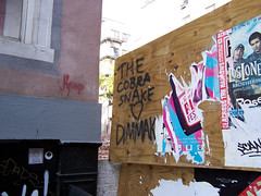The Cobrasnake <3 Dimmak (holycalamity) Tags: lowereastside les ludlowstreet newyork nyc cobrasnake graffiti