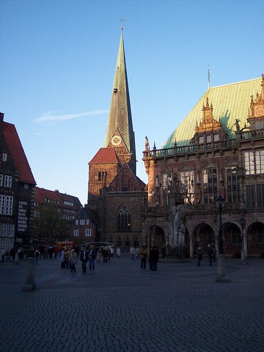 Market Place in Bremen