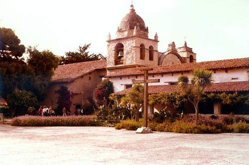 Carmel Mission by Old Jingleballicks