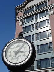 Tribeca Grand + clock by allert, on Flickr