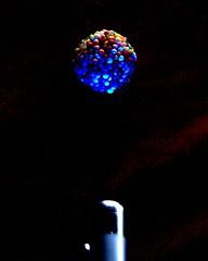 Sweet Ultra Violet (Catching Magic) Tags: sweet uv ultraviolet light macro mc05 mc05negativespace olympus e300 unmanipulated blue colour tiraudan