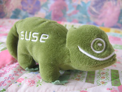 "Peluche ""Suse/Novell"""