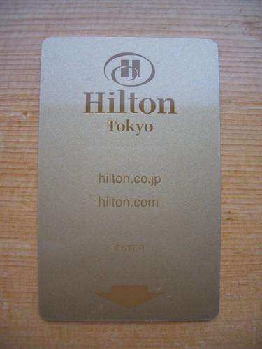 Room Key Card @ Hilton Tokyo from Flickr