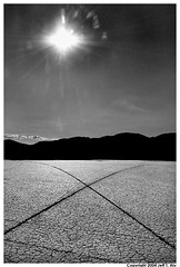 X (Jeff T. Alu) Tags: desert black white dry lake hot sun surreal moody lonely dark outdoors bleak blackandwhite deserted illusion zen medetation medetate power impact graphic doom bright earthy dirt gritty intense visionary heat passion 4x4 remote california desolate dreamy nightmare euphoric