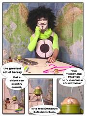 INSURGENT (5.11.2005) (Mister Higgs) Tags: world 2005 selfportrait me self map 1984 georgeorwell vforvendetta chanel winstonsmith insurgent 1605 emmanuelgoldstein wilfrid russellhiggs channelzero oligarchicalcollectivism thebashstreetkids domesticextremist the400thanniversaryofthegunpowderplot