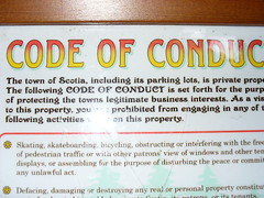 conduct!