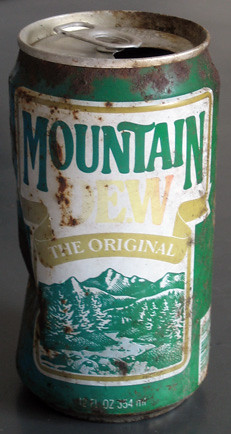 Mountain Dew from Mt. Mitchell