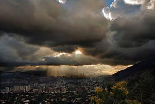 Luz sobre Caracas