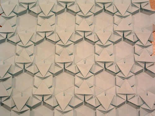 Flickriver Photoset Origami Tessellations By Infinite Origami