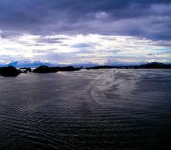 Leaving Sitka, Alaska