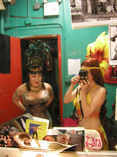 Backstage at Coney Island