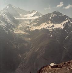 Domhtte (2940 m) and Weisshorn (4505 m) (claude05) Tags: alps schweiz suisse glacier summit alpen valais alpinism weisshorn domhtte altitude4505m levation45005000m challengeyouwinner
