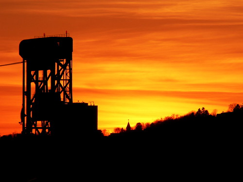 Houghton Lift Bridge Sunset