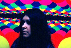 Black light (AJ Franklin) Tags: aj interestingness surreal explore blacklight 1970 trippy psychedelic bizarre deceased joannie