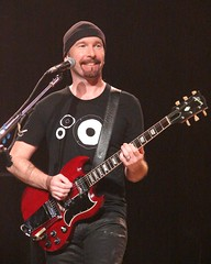 The Edge, 11\13\05, Miami, Florida, American Airlines Arena (bonobaltimore) Tags: u2 theedge miamiflorida vertigotour2005 bonobaltimore november132005 americanairlinesarena michaelkurman mikekurman