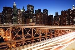 New York City (xprocessed) Tags: new york city nyc newyorkcity longexposure nightphotography bridge urban ny newyork brooklyn night digital lowlight cityscape traffic manhattan booklynbridge amw bulbexposure avaliablelight