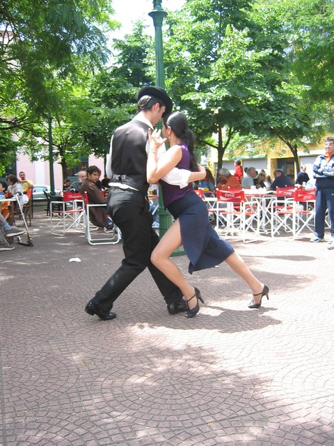 T for Tango on Plaza Dorrego