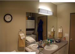 Bathroom (<oo-jel-lah>) Tags: home condo panorama photomerge