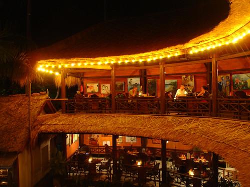 Dinner at Taman Cafe in Ampenan