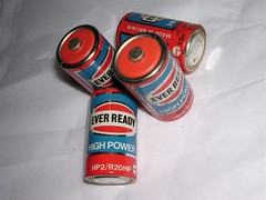 Old school Ever Readies (sigrim) Tags: everready batteries