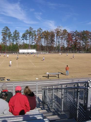Alumni vs. current at Chapel Hill high school