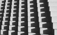 Geometry 401 (SCFiasco) Tags: light shadow blackandwhite bw sculpture white black deleteme art saveme deleteme10 geometry grain repetition blocks block scfiasco geometry401 siasoco edwinsiasoco edsiasoco
