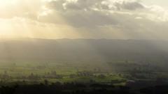 kaimai view with suns rays (EssjayNZ) Tags: newzealand tag3 taggedout tag2 tag1 2006 essjaynz kaimairanges taken2006 sarahmacmillan