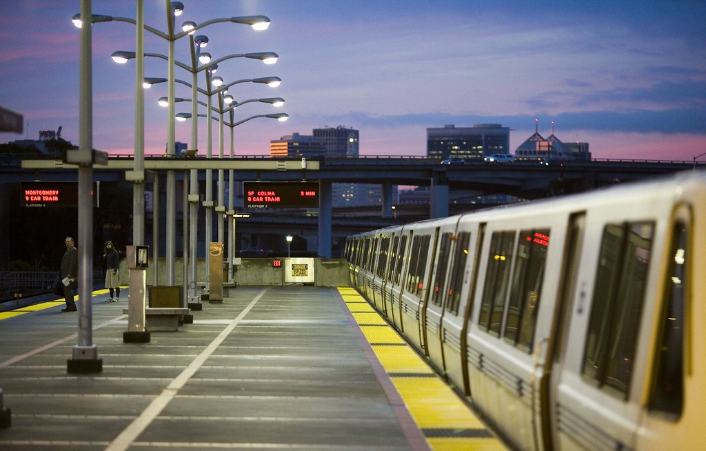 Sunrise BART
