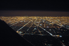 Chicago Nightview (caribb) Tags: city urban usa chicago skyline night lights illinois downtown unitedstates aerial citylights windowview nightview theunitedstatesofamerica metropolitan