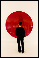 red (sam b-r) Tags: show red art museum circle exhibit andalucia danny viewer anishkapoor malaga s61037238 myredhomeland cacmalaga nikonstunninggallery sambrimages