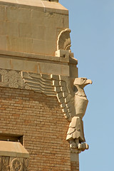 Eagle, southeast corner (Viajante) Tags: architecture texas historic courthouse paducah cottlecounty
