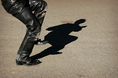 Dance (Lil [Kristen Elsby]) Tags: shadow man leather japan japanese tokyo dance asia dancing legs streetphotography dancer rocker harajuku rockabilly  rocknroll topv3333 yoyogipark eastasia tokyorockabillyclub yoyogikoen    japaneserockabilly