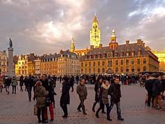 Lille, Grand place (Instantsmagic) Tags: grandplace lille