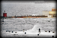 PEDALATE AL MARE / A COUPLE PEDAL THRUSTS TO THE SEA - EXPLORE #128. JUN 11. 2015 (GIO_CRIS) Tags: 11 explore jun 128 2015