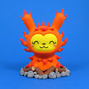 "The Fire Dancer 3"" Dunny (Jenn and Tony Bot) Tags: cute monster character kidrobot polymerclay kawaii monstrosity creature dunny designertoy vinyltoy customtoy tonybot thebots jennandtonybot jennbot"