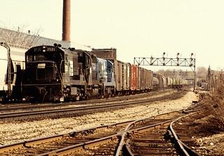 CR U25B 2526 wb CP30 Rochester NY 0577