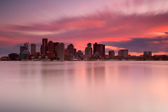 Stormy Sunset over Boston Skyline and Boston Harbor from Piers Park East Boston, Massachusetts USA (Greg DuBois - Sponsored by LEE Filters) Tags: city longexposure pink summer urban usa seascape motion boston skyline architecture clouds marina canon buildings movement colorful cityscape waterfront skyscrapers unitedstates cloudy vibrant horizon shoreline newengland wideangle stormy calm shore serene waterblur northeast atlanticocean waterway stormclouds eastcoast cityskyline waterreflection pierspark bostonskyline waterscape eastboston bostonharbor bostonsunset downtownboston cloudmovement smoothwater stormysunset neutraldensity extremeexposure bostonphotographer graduatedneutraldensity leefilters bostonphotography financialdistrictboston gregdubois gregduboisphotography piersparkeastboston