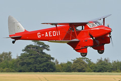 Photo of de Havilland DH90 Dragonfly 'G-AEDU'