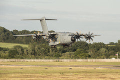 The Third A400M ATLAS Aircraft is Delivered to the RAF (RAF Brize Norton) Tags: b plane mod force aircraft air transport flight 206 royal first aerial norton cargo seville des landing worldwide strip airbus atlas delivery 24 arrival strategic airborne 70 freight raf squadron tactical sqn xxiv brize a400m lxx
