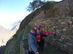 Photo de 14h - 2eme jour de Trek, visite du Choquequirao (Pérou) - 10.07.2014