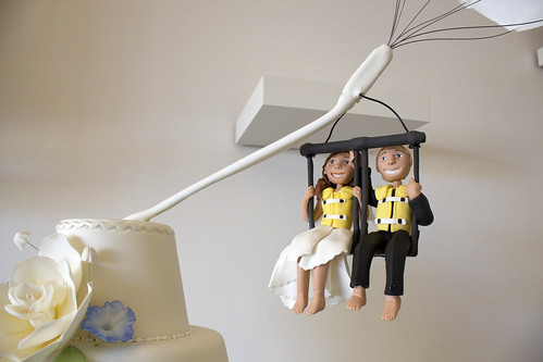 Parasail Wedding Figurines