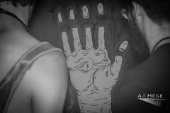 Dark Matter: Anomaly (AJ Hge Photography) Tags: blackandwhite bw art love night canon painting fun prime blackwhite hand florida event 2015 60d furtographer erikswenson ajhegephotography ajhgephotography gabrielbocanegra darkmatteranomaly
