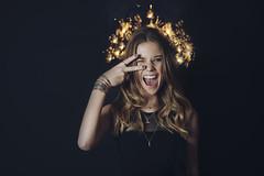 MERRY CHRISTMAS (Anastasia Vervueren) Tags: christmas studio ights sparkle fun happy photography portrait blogger