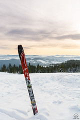 Rysianka na skiturach (czargor) Tags: beskidzywiecki wgoryzima winter winterinthemountains skituring