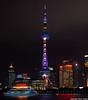 Torre Perla Oriental (cvielba) Tags: china malecon nocturnas rascacielos rio shanghai